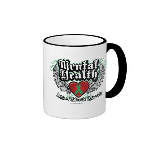 Mental Health Wings Coffee Mug