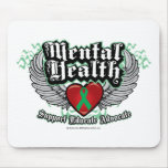 Mental Health Wings Mouse Pad