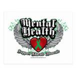 Mental Health Wings Post Card