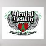 Mental Health Wings Print