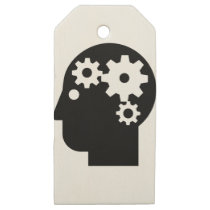 Mental Health Wooden Gift Tags