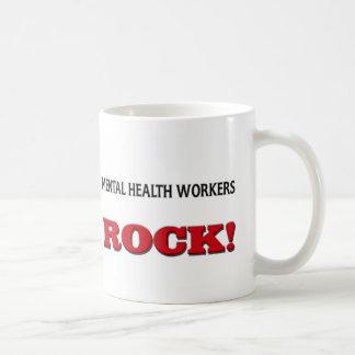 Mental Health Workers Rock Coffee Mug