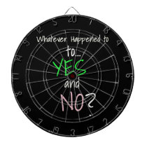 Mental Health YES or NO Dart Board