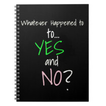 Mental Health YES or NO Notebook