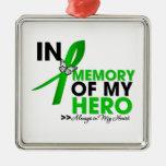 Mental Heath Tribute In Memory of My Hero Christmas Tree Ornaments