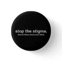 Mental Illness Awareness Week Button