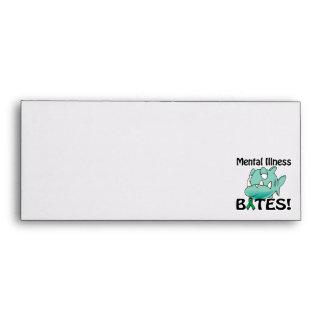 Mental Illness BITES (green) Envelope