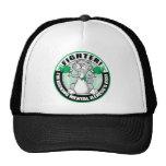 Mental Illness Cat Fighter Trucker Hat