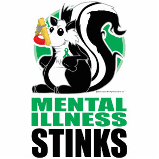 Mental Illness Stinks Statuette