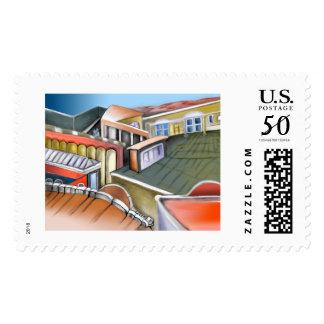 Mental labyrinth postage