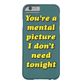 MENTAL PICTURE BARELY THERE iPhone 6 CASE