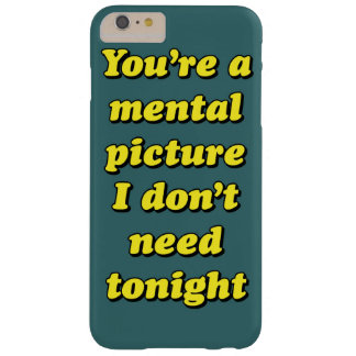 MENTAL PICTURE BARELY THERE iPhone 6 PLUS CASE