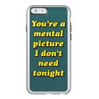 MENTAL PICTURE INCIPIO FEATHER® SHINE iPhone 6 CASE