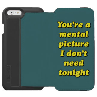 MENTAL PICTURE iPhone 6/6S WALLET CASE