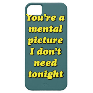 MENTAL PICTURE iPhone SE/5/5s CASE