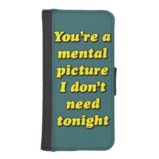 MENTAL PICTURE iPhone SE/5/5s WALLET