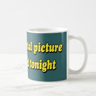 MENTAL PICTURE CLASSIC WHITE COFFEE MUG