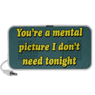 MENTAL PICTURE iPhone SPEAKERS