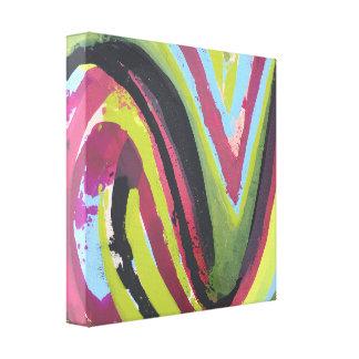 Mental Receipt 12 x 12 Wrapped Canvas