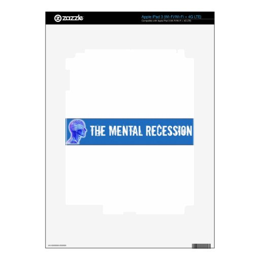 Mental Recession Swag Decal For iPad 3