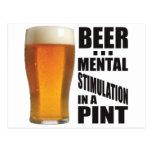Mental Stimulation Postcard