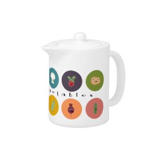 mental vegetables polka at teatime teapot