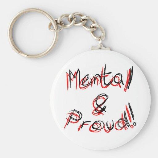 ¡Mental y orgulloso!!! Llavero