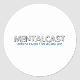 MentalCast Tearing Pop Culture A New One Classic Round Sticker