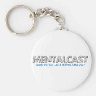 MentalCast Tearing Pop Culture A New One Key Chain