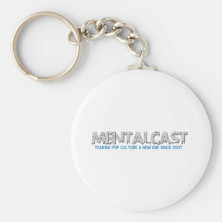 MentalCast Tearing Pop Culture A New One Keychain