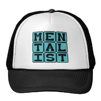 Mentalist, Mind Reader Trucker Hat