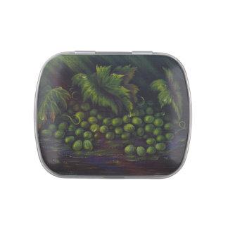Mentas del Belly de la jalea (uvas) Jarrones De Caramelos