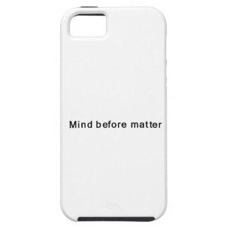 Mente antes de la materia iPhone 5 Case-Mate fundas
