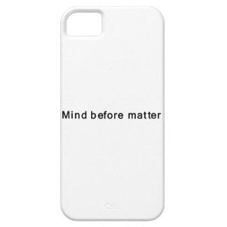 Mente antes de la materia iPhone 5 Case-Mate funda