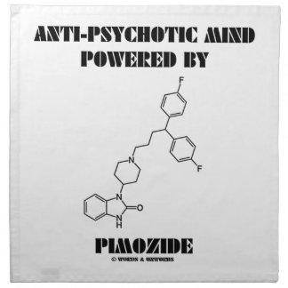 Mente antipsicótica accionada por Pimozide (molécu Servilletas