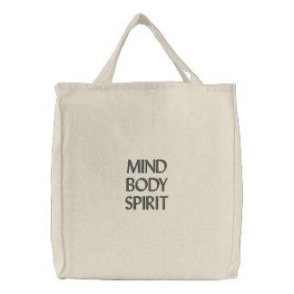Mente, cuerpo, alcohol bolsa
