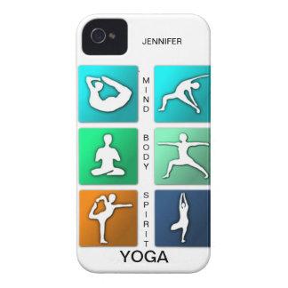 Mente, cuerpo, caso del iPhone de la yoga del Funda Para iPhone 4 De Case-Mate