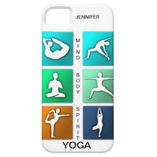 Mente, cuerpo, caso del iPhone de la yoga del Funda Para iPhone SE/5/5s