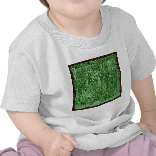 Mente de Gaia de la naturaleza Camisetas