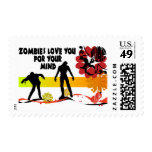 Mente del zombi sellos