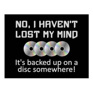 Mente en una postal del disco