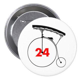 Mente-Lector 24 Pin Redondo De 3 Pulgadas