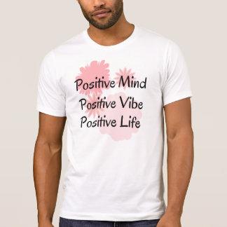 Mente positiva, ambiente positivo, cita positiva playera