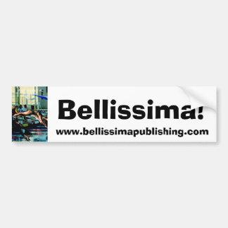 ¡mente que entrena a cover2, Bellissima! , www.bel Pegatina Para Auto