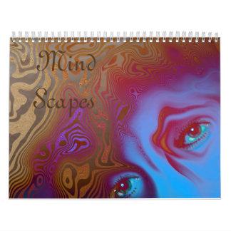 Mente Scapes Calendarios De Pared