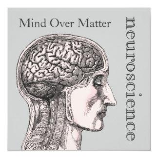 """Mente sobre invitaciones de la neurología del invitación 5.25"""" x 5.25"""""""
