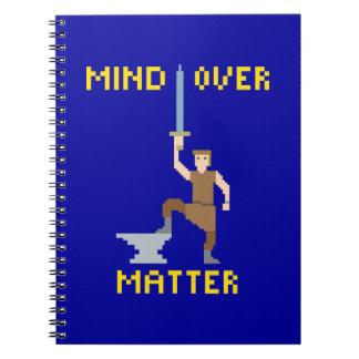 Mente sobre la materia - cuaderno de papel