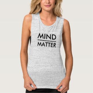Mente sobre las camisetas sin mangas del músculo