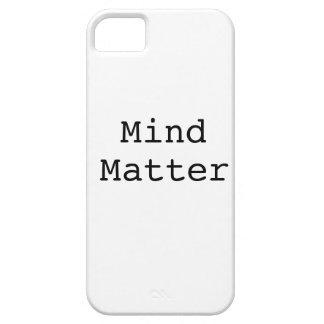 Mente sobre materia iPhone 5 Case-Mate carcasa