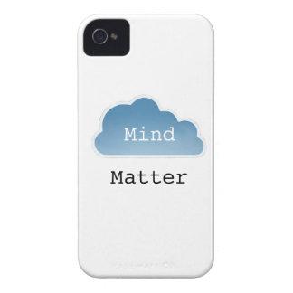 Mente sobre materia iPhone 4 carcasa